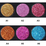 NAKEHOUSE-6 Color Diamond Glitter  Shiny Eye shadow Palette,Eye shadow
