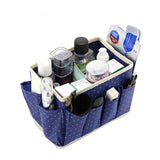 NAKEHOUSE-Cute Dots Desktop Cosmetic Organizer Makeup Storage Bins Accessories Box,Storage