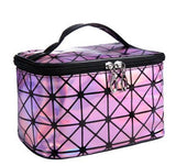 Bright Diamond Travel Cosmetic Makeup Organizer Bag