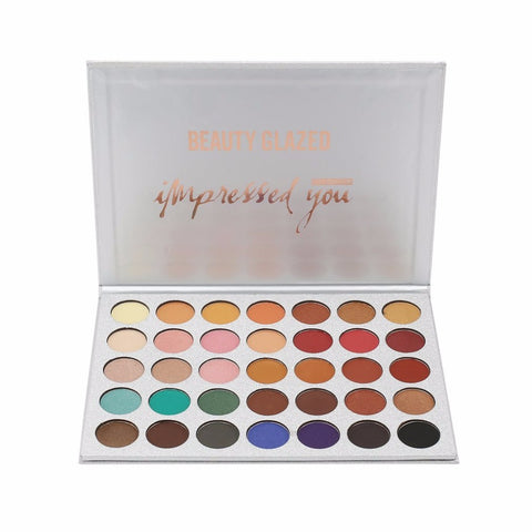 88 Pro Full Color Neutral Warm Eyeshadow Palette Makeup Cosmetic Palette