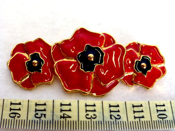 Escada by Margaretha Ley Signature Poppy Brooch