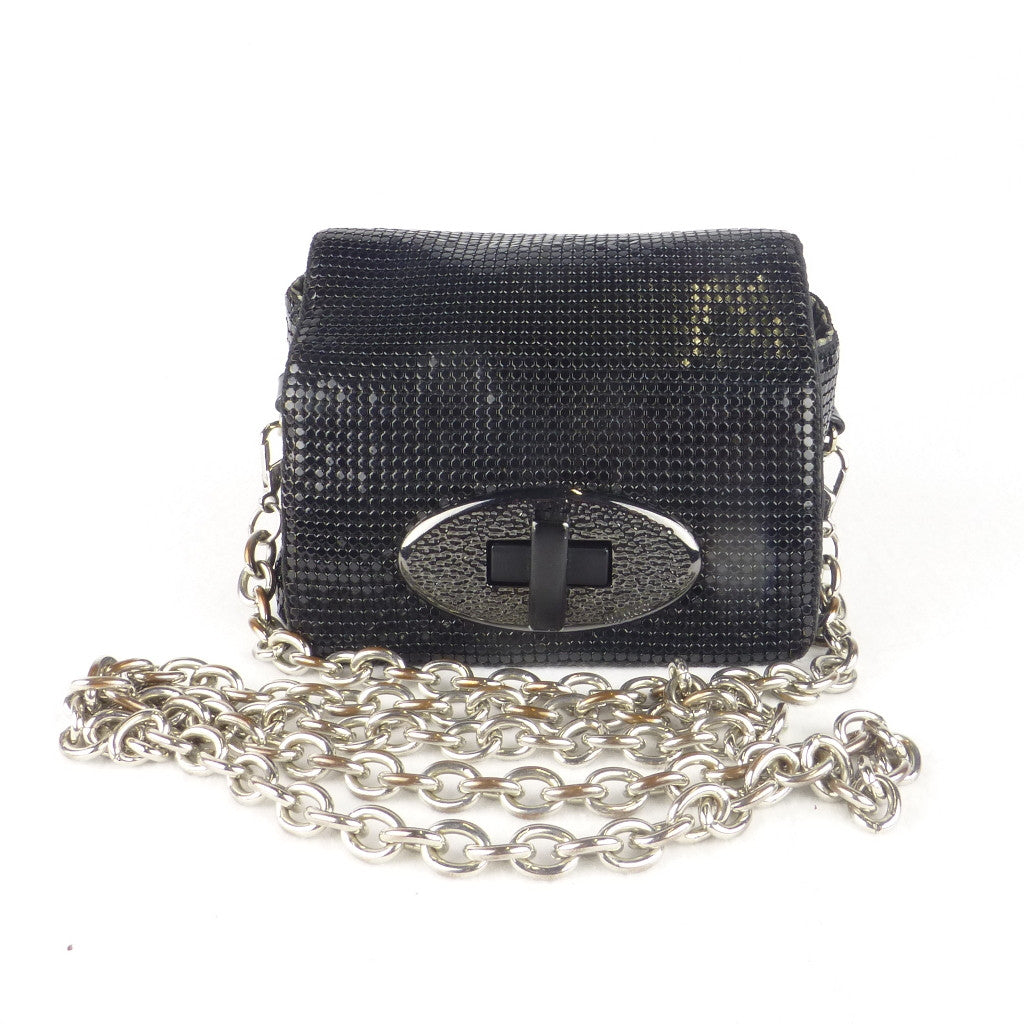 Mimco Mesh Turn-lock bag