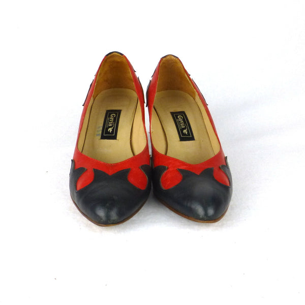 Gavia Two-tone Rockabilly Pumps. Size 6