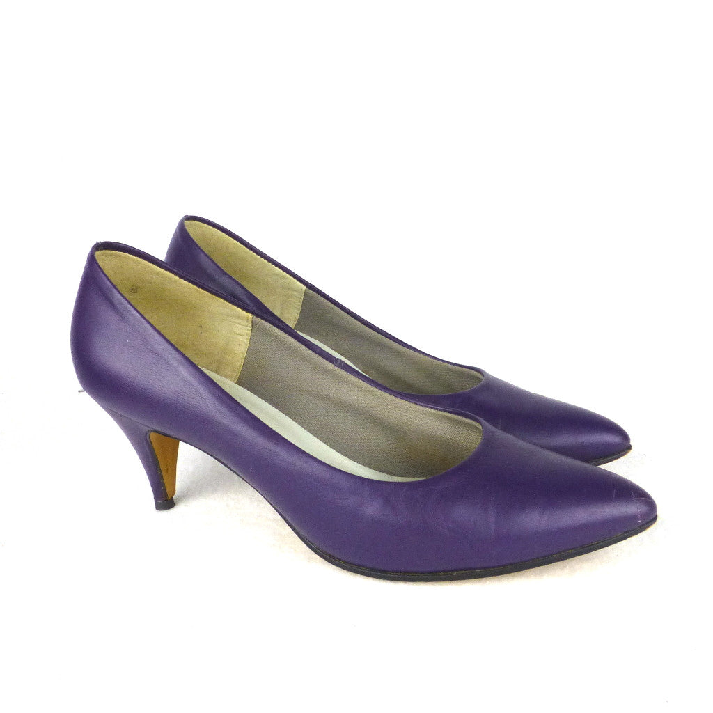 Sandler Purple Pumps. Size 5.5