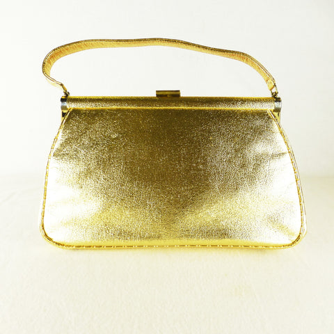 JR Miami USA Gold Handbag