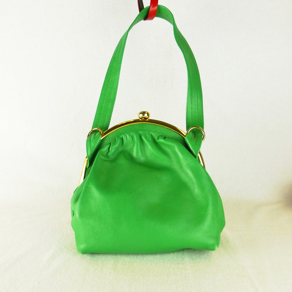 NSW Fashion Leather Goods Green Bag