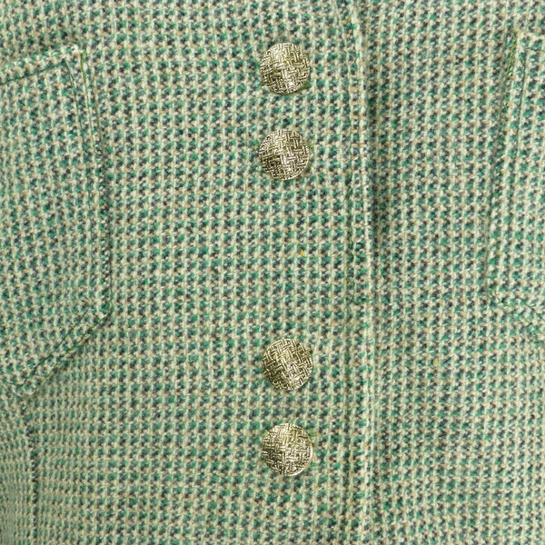 Homemade Green Bomber Jacket. Sz S