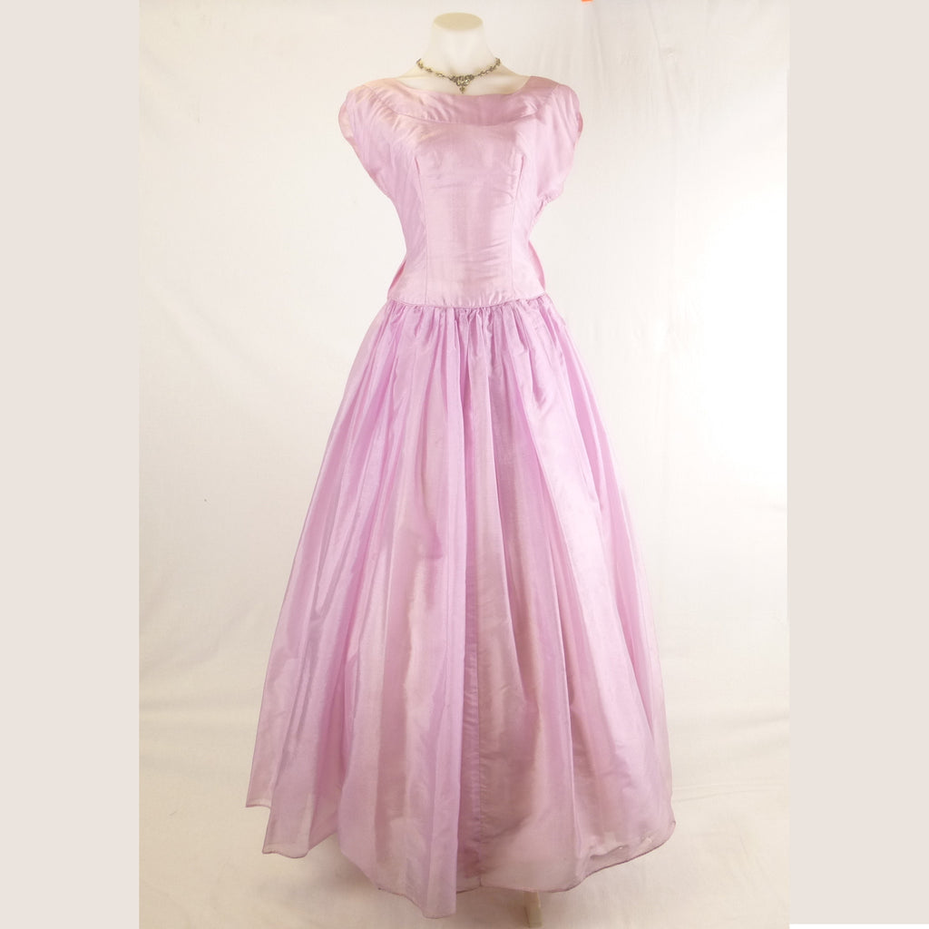 Purple Full Length Ball Gown. Size S/M