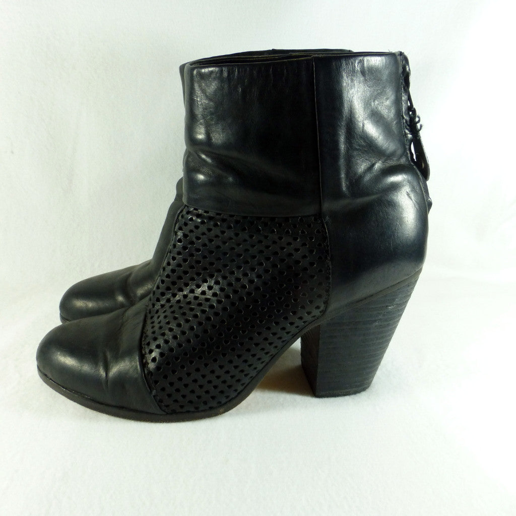 Rag & Bone Perforated Boots. Size 8.5/9