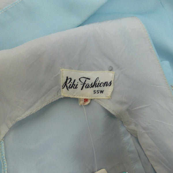 Rikki Blue Shift Dress Size M