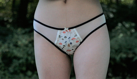 THE GRAPHIC PANTY- 'UNDERGROWTH'