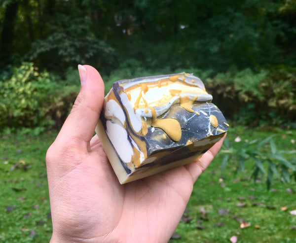 Turmeric Swirl Vegan Soap- LIMITED EDITION