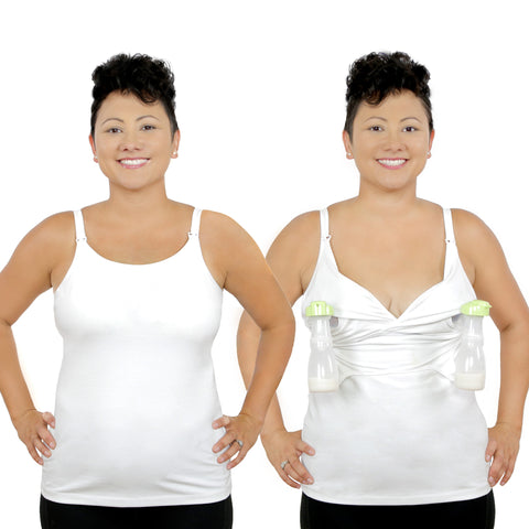 Rumina Pump&Nurse Essential Full Coverage all-in-one Nursing Tank