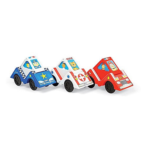 Fat Brain Toys Vroom Blocks