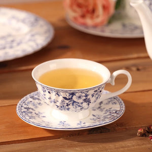 Royal Blue Tea Cup