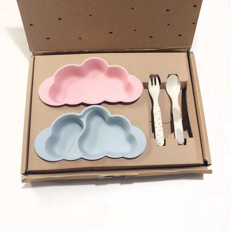 Cloud Plate Set For Kids
