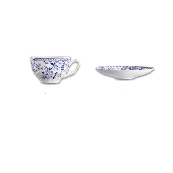 Royal Blue Tea Cups (Set of 2)