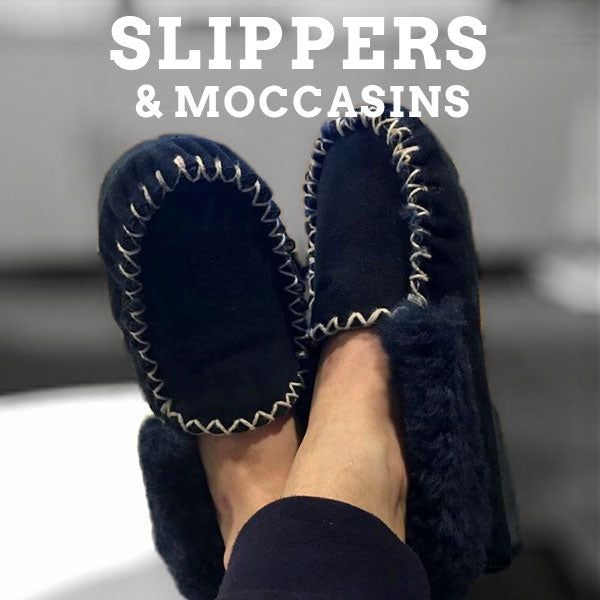 Slippers & Moccassins