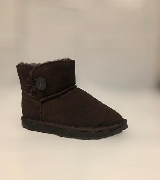Bailey Ultra Short 1 Button UGG Chocolate