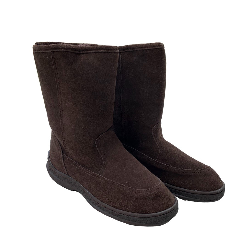 "Classic Short 9"" UGG with stitched sole Brown"