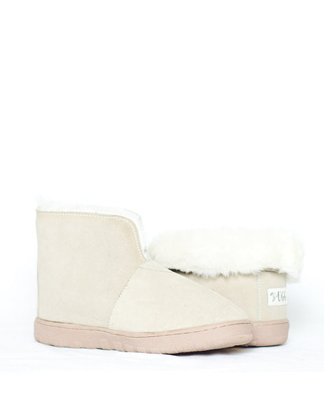 "Millers Ankle Boot 5"" UGG with stitch sole White"