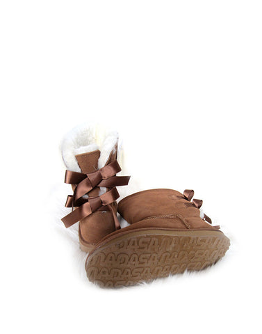 "Bailey Bow 9"" Short UGG Chestnut"