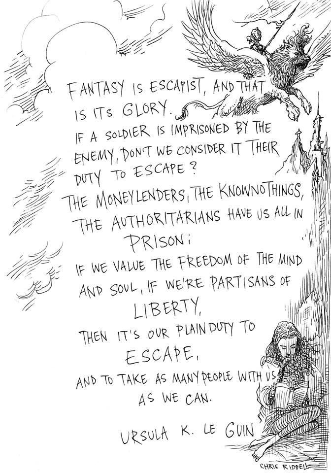 Indulging in fantasy is a necessity... Here's why....
