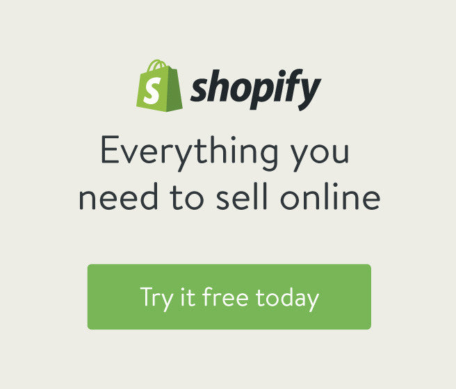 Create an Online Store like mine - Shopify