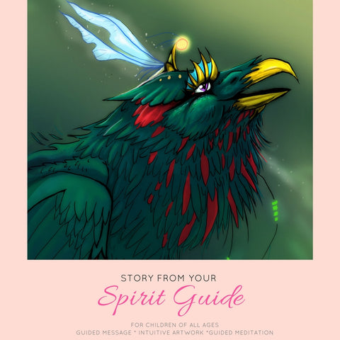 Childrens Animal spirit Guardian - Tigiris Illustrations