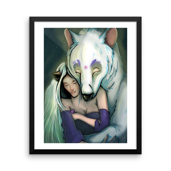 Framed - Celestral Being - Tigiris Illustrations