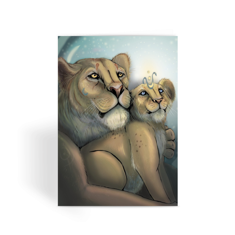 The Young King - Greeting Card