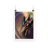 Fire Rooster - Poster - Tigiris Illustrations