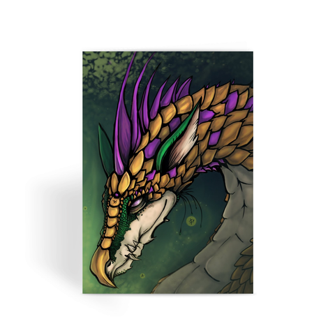Dragon of Good Fortune - Greeting Card