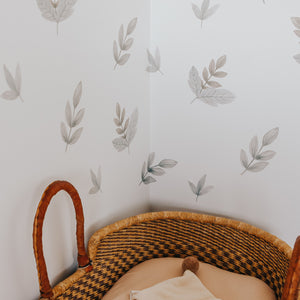Greenery Removable Fabric Wall Decals