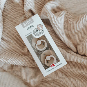 BIBS Pacifier - 2 Pack of Vanilla