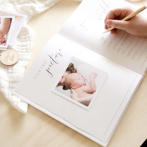 Hello Little Love - Baby Memory Book Blossom and Pear