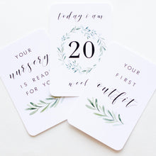Load image into Gallery viewer, Almost Perfect - Pregnancy Milestone Cards - Lush Collection Milestone Cards Blossom and Pear