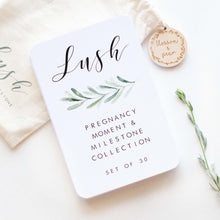 Load image into Gallery viewer, Pregnancy Milestone Cards - Lush Collection - Blossom and Pear