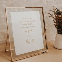 Load image into Gallery viewer, Embossed Gold Foil Print