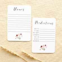Load image into Gallery viewer, Pregnancy Milestone Cards - Fleur Collection Milestone Cards Blossom and Pear