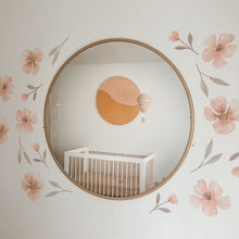 Load image into Gallery viewer, Floral Removable Fabric Wall Decals