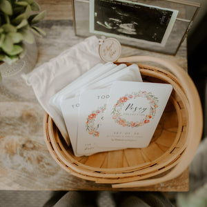 Baby Milestone Cards - Posey Collection