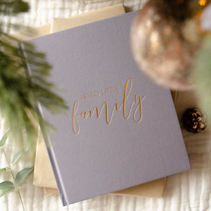 Almost Perfect - Hello Little Family - 25 Year Keepsake Family Journal