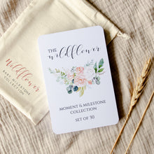Load image into Gallery viewer, Baby Milestone Cards - Wildflower Collection