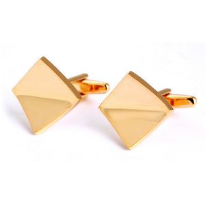 Executive Inflection Cufflinks - Standard Cufflink - Front View