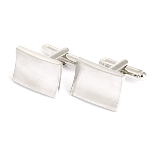 Corporate Style Cufflinks - Standard Cufflink - Front View