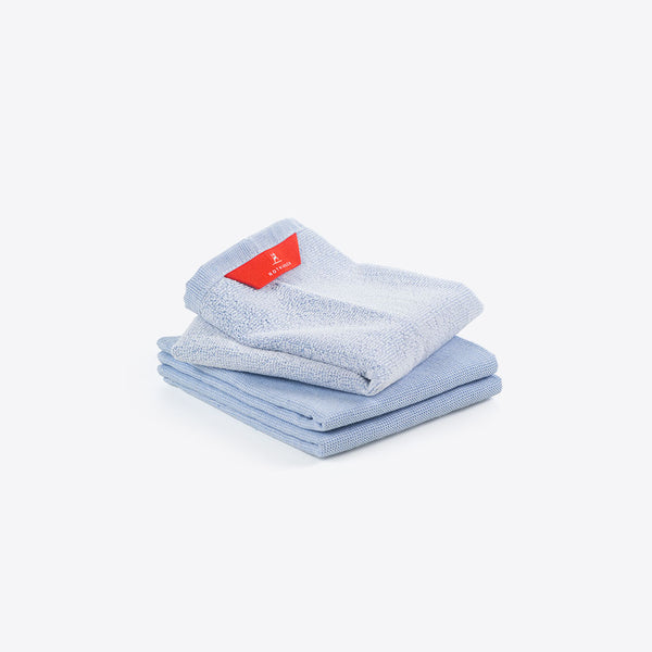 Handtücher Set Hellblau (Hand Towels Set Light Blue)