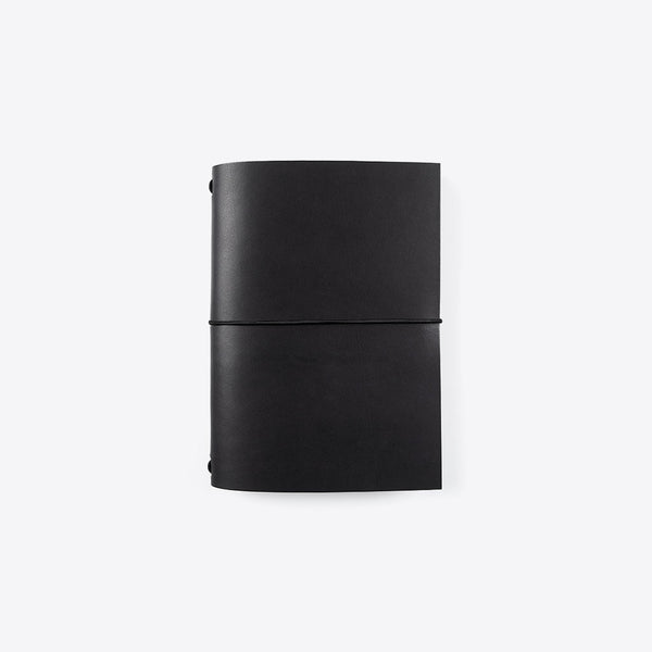 Leder Notizbuch Schwarz (Leather Notebook Black)