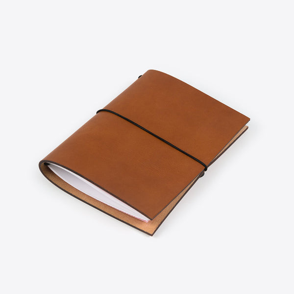 Leder Notizbuch Braun (Leather Notebook Brown)