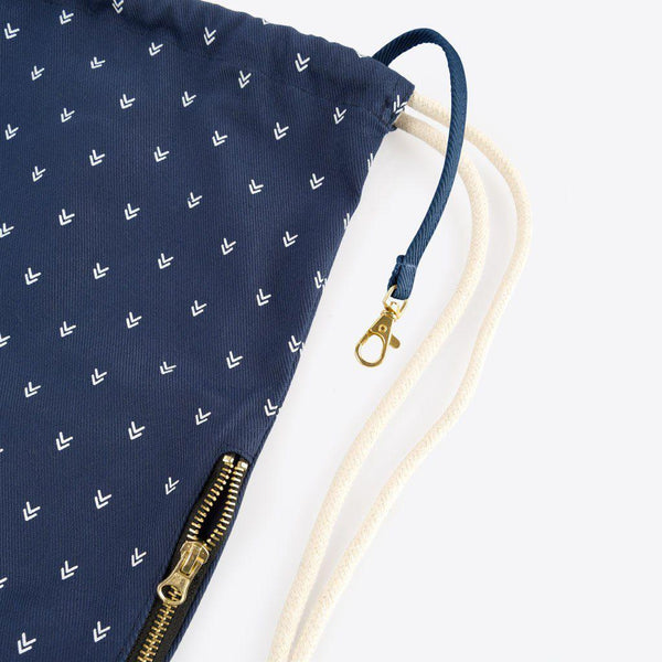 Turnbeutel mit Pfeilen Blau (Arrow Gym Bag Navy)